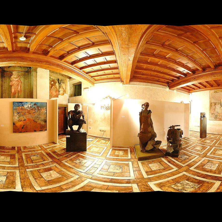 Mostra Personale alla Camera dei Deputati, Palazzo di Montecitorio, Sala del Cenacolo, Roma, 2009. Courtesy Associazione Fabula in Art.